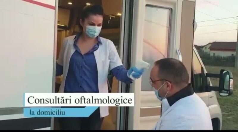 Consultări oftalmologice gratuite la domiciliu